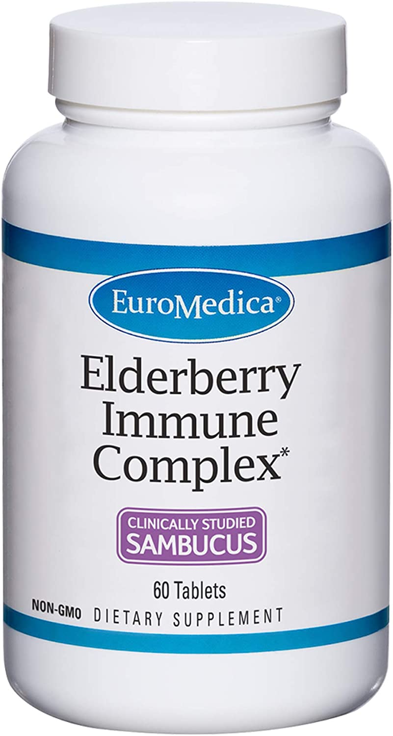 EuroMedica Elderberry Price reduction Immune Complex - S Clinically 60 Trust Tablets
