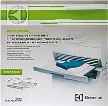 Electrolux Essential Kit 9029792885 apilamiento con la tableta kit desmontable apta para lavadoras y secadoras con profundidades entre 60 cm 54 comporesa