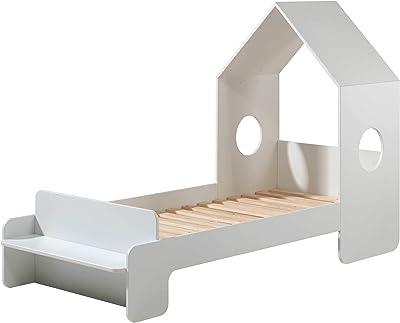 Vipack CASAMI - Cama de casa con superficie de descanso (90 x ...