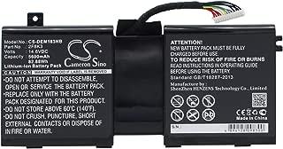 5600mAh Battery for DELL Alienware 17, Alienware 18, Alienware M17X R5, Alienware M18X R3