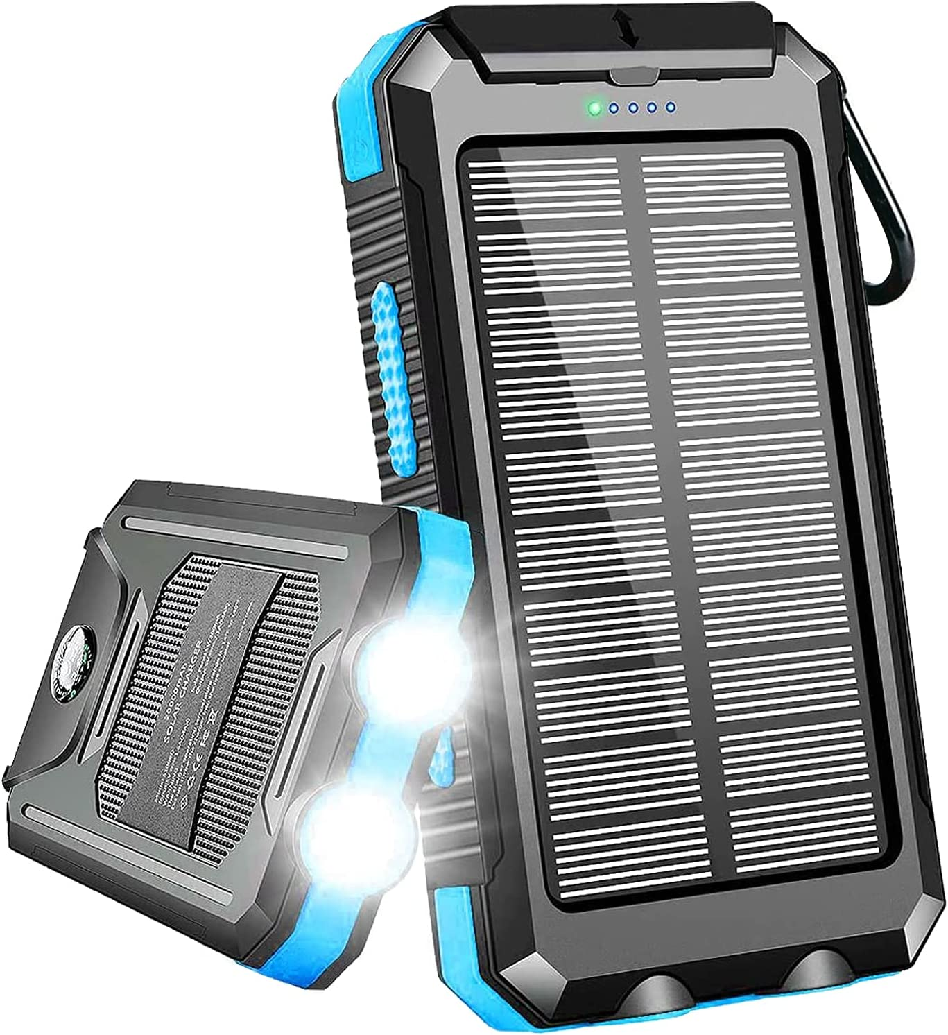 Solar New product! New type Charger 20000mAh Portable Power O Award-winning store Dual Bank USB with