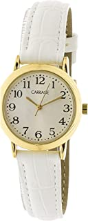 Timex Women's Carriage C3C747 Gold Leather Quartz Fashion Watch
