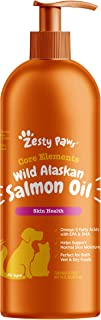 Pure Wild Alaskan Salmon Oil for Dogs & Cats - Supports Joint Function, Immune & Heart Health - Omega 3 Liquid Food Supple...