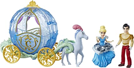 Disney Princess Royal Carriage Ride, Cinderella & Prince Charming Dolls
