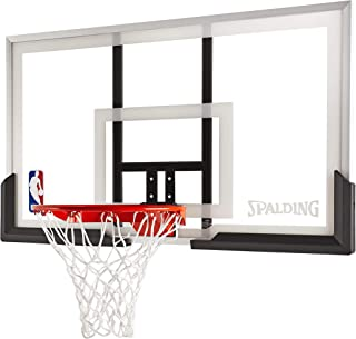 Spalding 54 Inch Backboard and Rim Combo with Acrylic Backboard