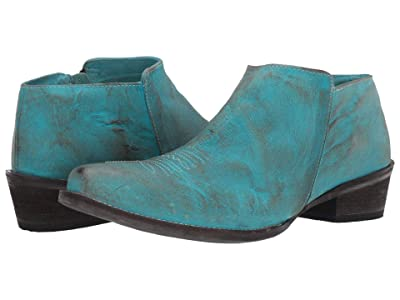 Roper Selina (Blue Burnished Leather) Cowboy Boots