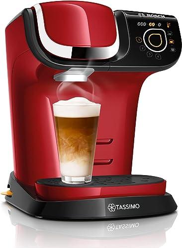 BOSCH - TAS6503 Tassimo My Way 2 - Cafetière à capsule - Avec système de filtration BRITA et interface tactile - Pers...