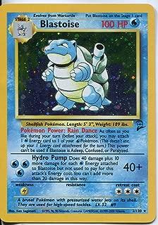 Pokemon Base Set 2 Holofoil Card #2/130 Blastoise