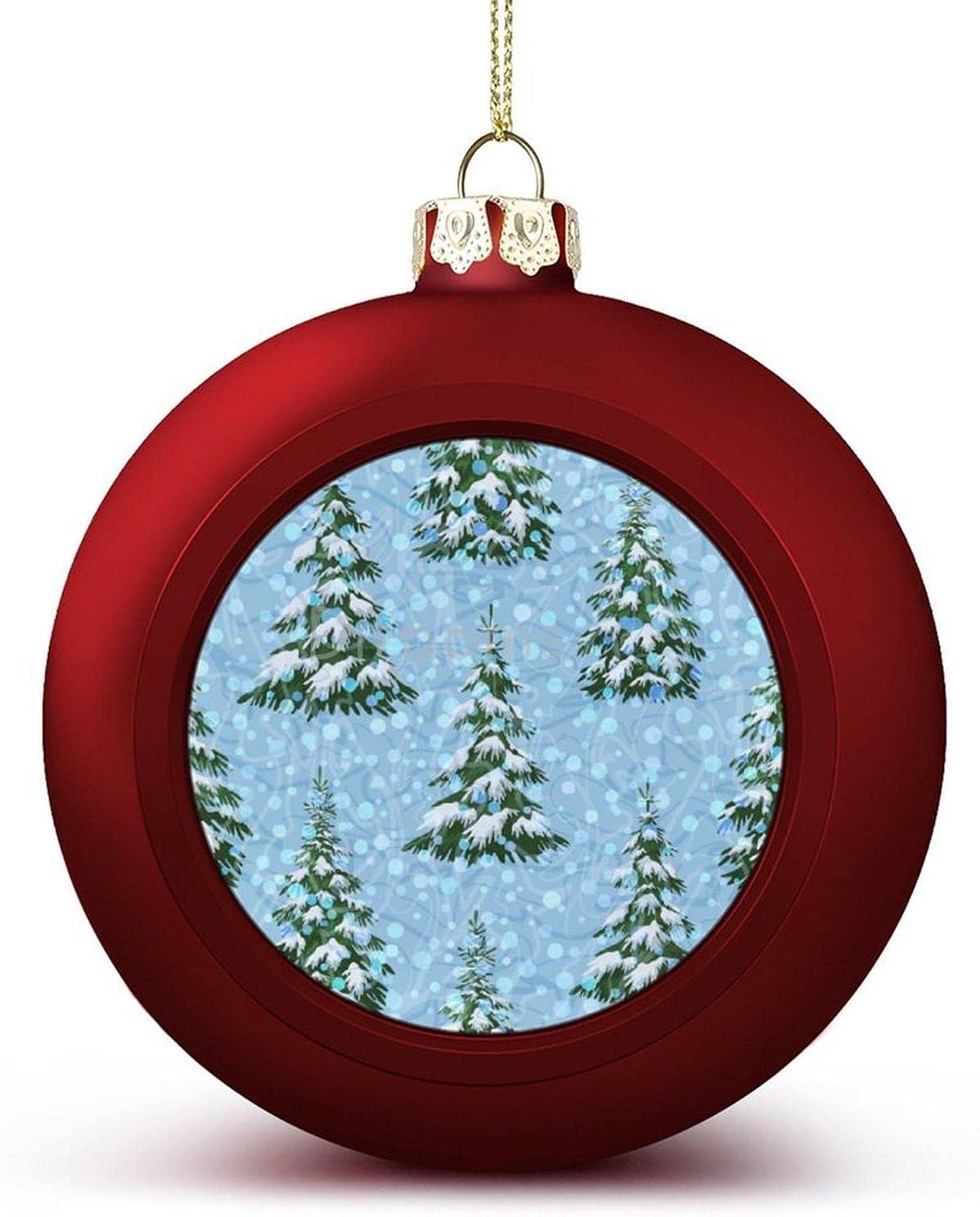 Purchase 4PCS Christmas Bargain sale Balls Ornaments Trees with Landscape Ch