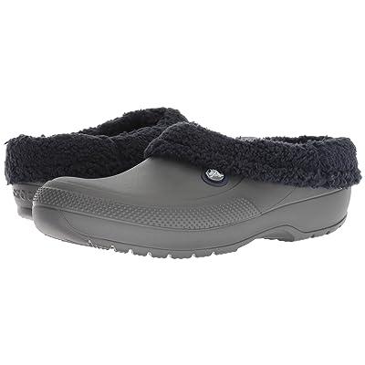 Crocs Classic Blitzen III Clog (Slate Grey/Navy) Clog/Mule Shoes