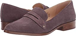 Dusted Plum Cow Split Suede