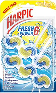 Harpic Toilet Block Fresh Power 6 Summer Breeze, Value Pack 2x39g