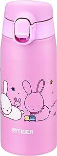 タイガー 水筒 350ml かめいち堂 マグ ステンレスボトル ワンタッチ 軽量 ウサギ MCT-A035P