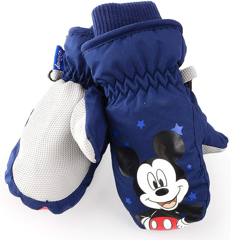 Greneric Kinderhandschuhe Winter Junge Ski-Jumper-Tasche bezieht Sich auf Baby Spider-Man Spielen Schnee dick warme Schulhandschuhe 70044 Spider-Man Tibetan//Empfohlen 2-6 Jahre
