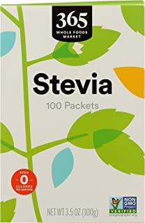 365 by WFM, Stevia Extract Packets, 100 Count