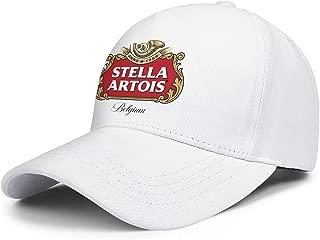 Summer Stella-Artois-Beer-Logo- Visor Hats Vintage mesh Caps