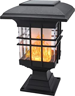YAKii Solar Torch Lights, Auto On/Off Flickering Flame Solar Powered Outdoor Lights, Waterproof Landscape Decoration for Y...
