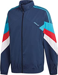 Details zu adidas Originals Herren Jacke Itasca Windbreaker Snake Track Top Windjacke Blau