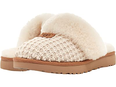 UGG Cozy Knit Slipper (New Cream) Women