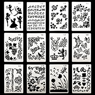 folk art painting stencils
