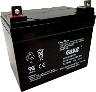 Bag Boy Navigator Golf Caddy 12V 35Ah Compatible Replacement Battery by Casil