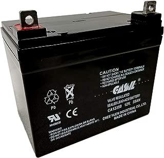 CASIL 12v 35ah for Pride Revo 3w SLA Sealed Lead Acid Battery