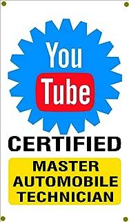 youtube certified mechanic sign
