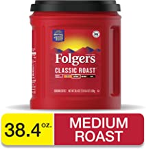 Best folgers classic roast ground coffee 48 ounce Reviews