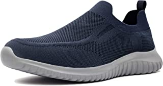 Men's Slip on Loafer Shoes- Comfortable Casual Mesh Walking Sneakers