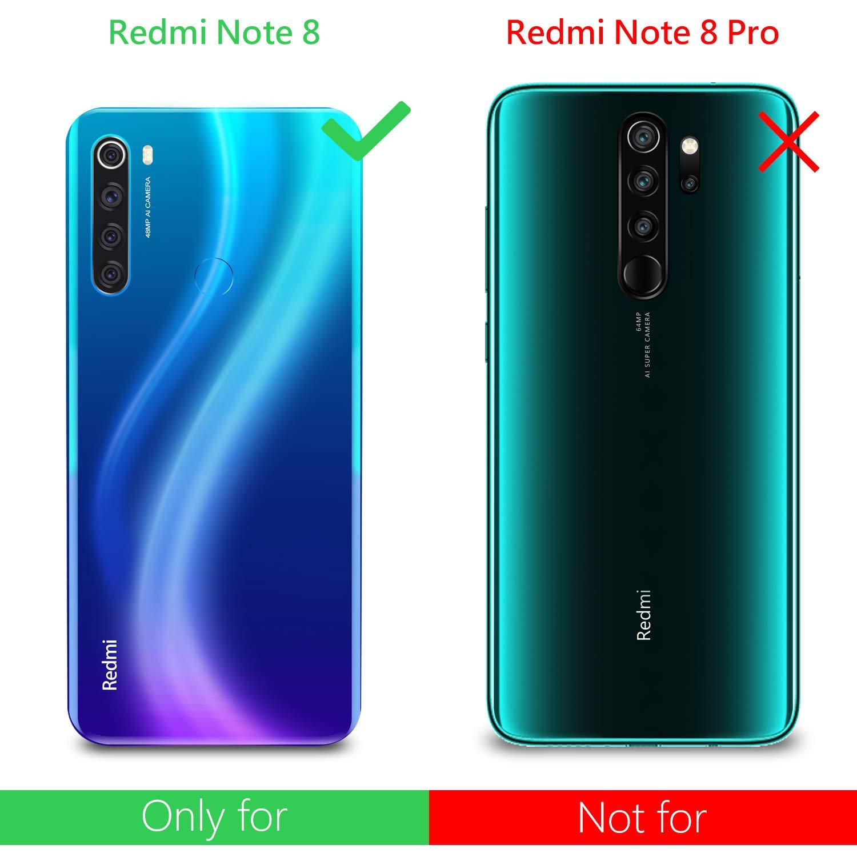 Leathlux Funda Xiaomi Redmi Note 8 + [2 Pack] Cristal Templado ...