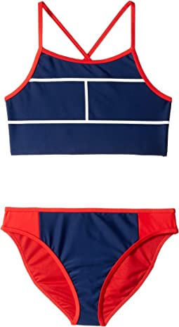 Elvira Two-Piece Swimsuit (Big Kids)