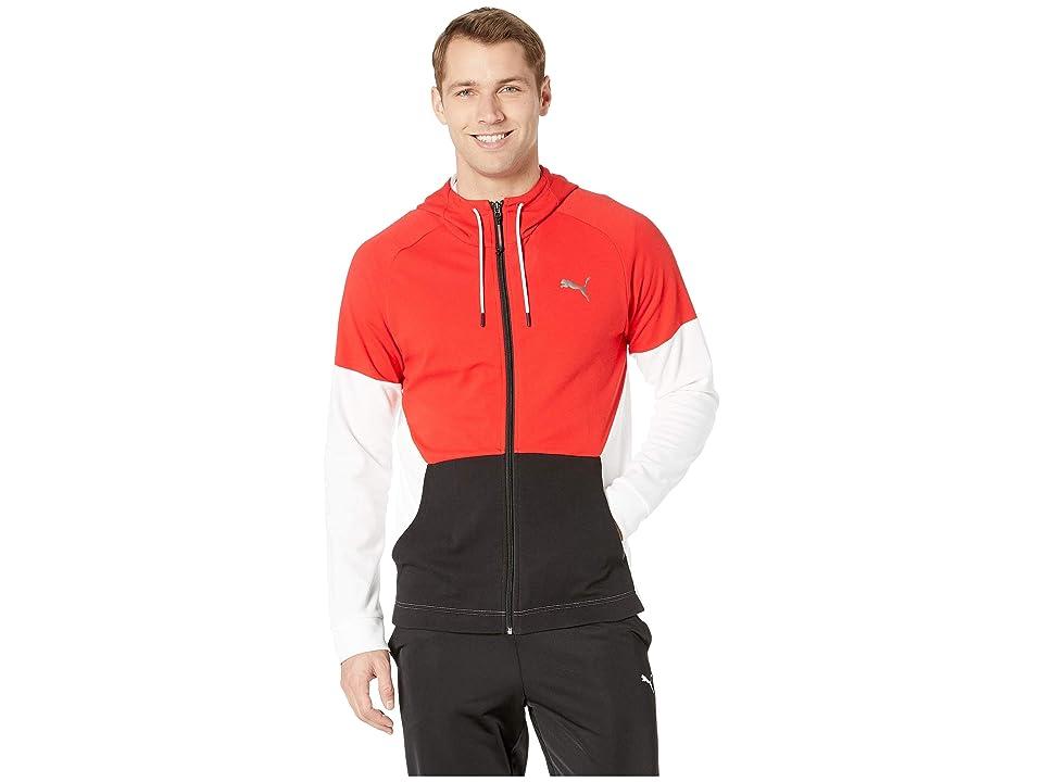 PUMA A.C.E. Fleece Jacket (High Risk Red) Men
