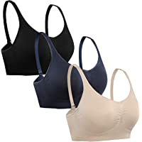 3-Pack Hofish Women's Comfortable Daily Bras