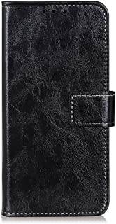 zl one Compatible with/Replacement for Phone Case LG K20 2019 PU Leather Wallet Case Card Slots Flip Cover (Black)