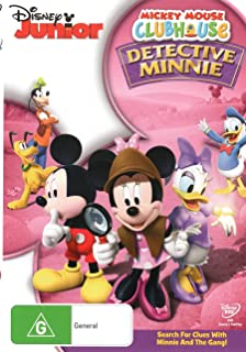 Mickey Mouse Clubhouse: Detective Minnie (Re-branded) (DVD)