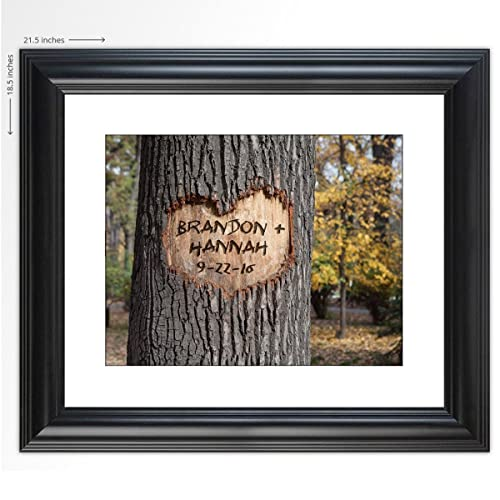 "Personalized Wedding Gift -""Love Grows"" - The Perfect Present for the Bride and Groom or Anniversary - Customized Print Includes Names and the Special Date"