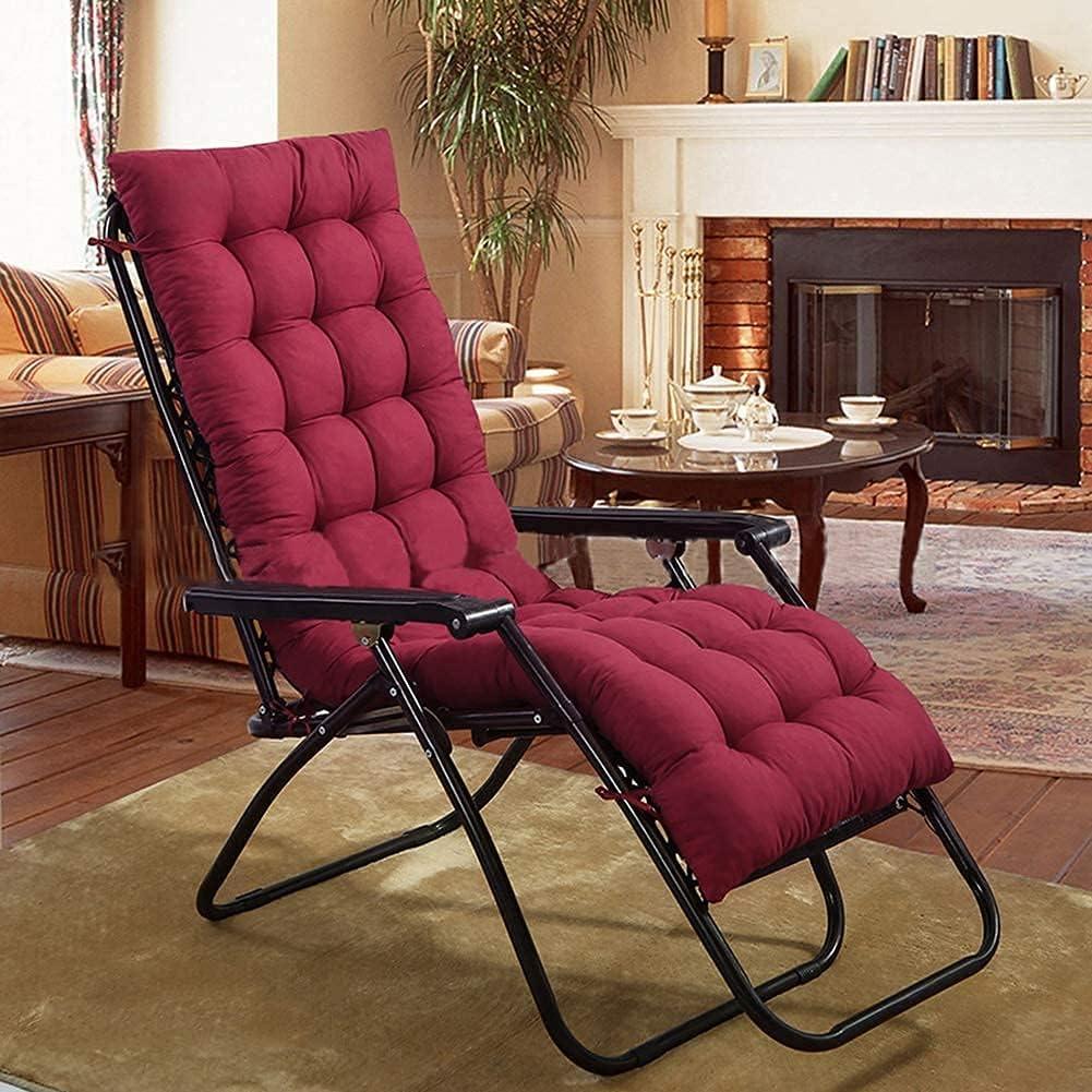 HONGREN Anti-Slip Popular brand Sun Lounger seat Max 86% OFF Cushion Portable Replacement