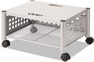 Vertiflex VF52005 Underdesk Machine Stand, One-Shelf, 21 1/2w x 17 7/8d x 11 1/2h, Matte Gray