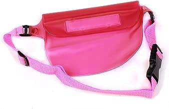DURAGADGET Pink Waterproof Case with Adjustable Waist Strap - Suitable for Canon IXUS 125 HS  PowerShot SX240 HS  IXUS 132  IXUS 170  IXUS 165  IXUS 160 /Olympus Tough TG-2  SZ-16 & Stylus SH-50
