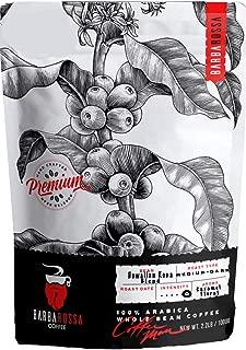 100% Hawaiian Kona Blend, Barbarossa Coffee Gourmet Whole Bean Coffee 2.2 Pound