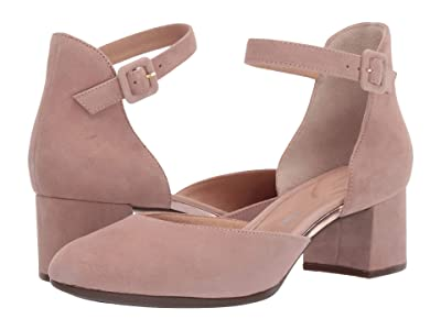 Rockport Total Motion Novalie Two-Piece (Mauvy Suede) Women