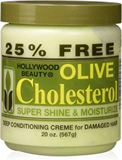 Hollywood Beauty Olive Cholesterol, 20 oz (Pack of 2)