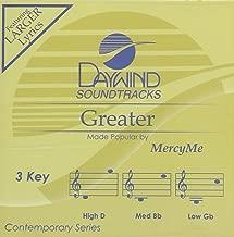 Greater Accompaniment/Performance Track  Daywind Soundtracks
