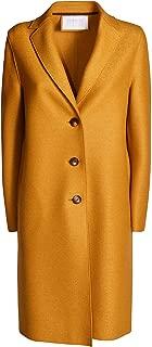 Harris Wharf London Luxury Fashion Womens A1331MLK215 Gold Coat | Fall Winter 19