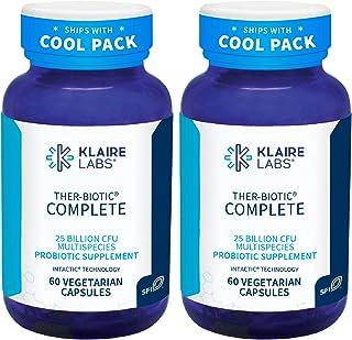 Klaire Labs Ther-Biotic Complete - 25 Billion CFU Probiotic Supplement - Hypoallergenic Probiotics for Men + Women - Diges...