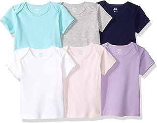 Amazon Essentials Boys' 6-Pack Lap-Shoulder Tee