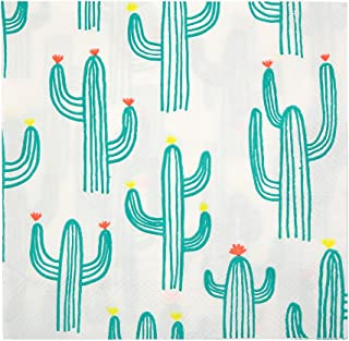 Meri Meri, Cactus, Large Party Napkins - Pack of 20