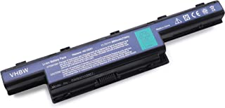 vhbw Akku 6600mAh wie AS10D31, AS10D51, AS10D41, AS10D61, AS10D71 für ACER TravelMate 4740, 5740, 5742, 7740 Laptop Notebook   Li Ion, 11.1V, schwarz