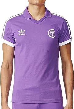 adidas Real Madrid Retro Camiseta Visitante. Los años ochenta