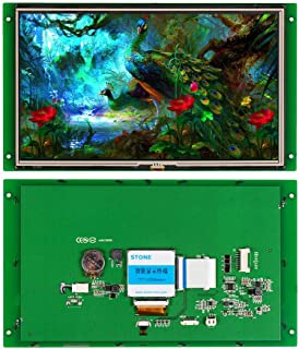 10.1 Inch Serial LCD Display Module with Program + Touch Screen for Equipment Control Panel(10.1 Inch, WTVC101WT-01)